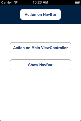 Multiple ViewControllers